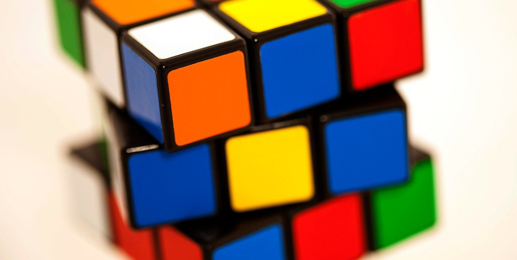 photo of rubik cube