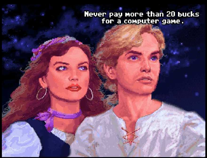 guybrush elene never pay more