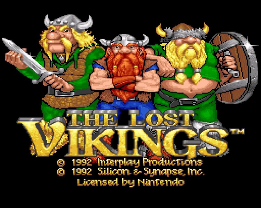 the lost vikings art