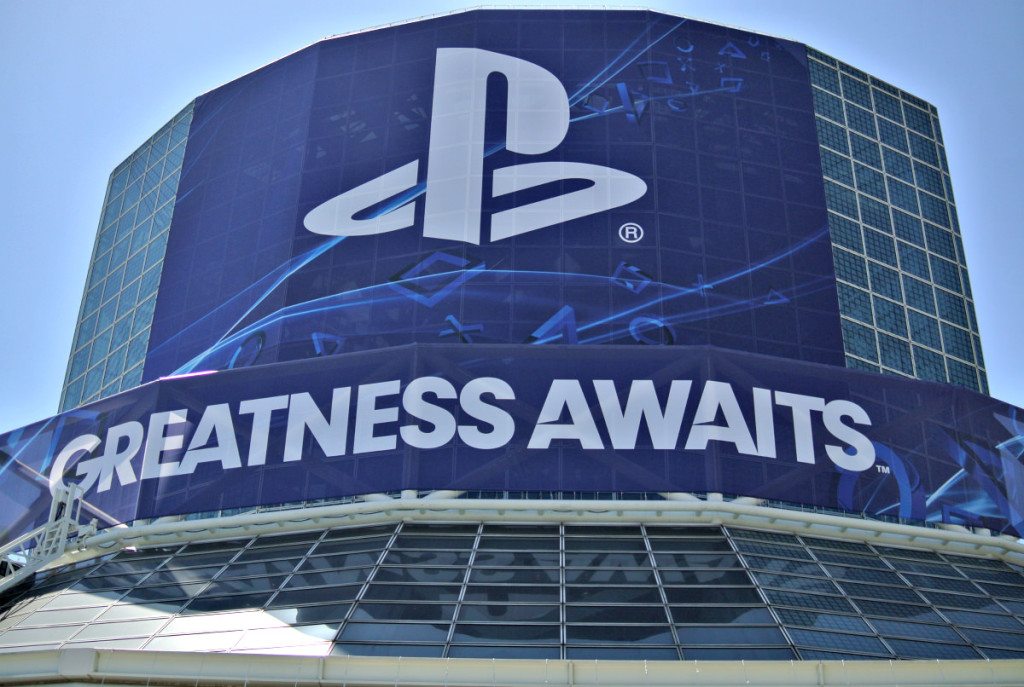 greatness awaits logo for sony playstation 4 at E3 2013