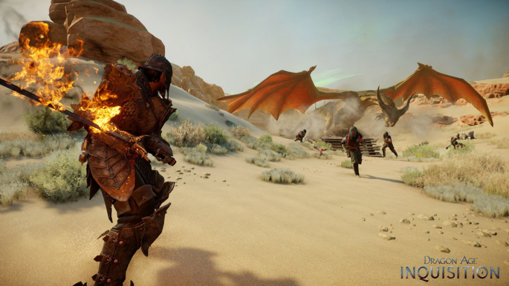 screenshot from RPG dragon age inquisition from bioware