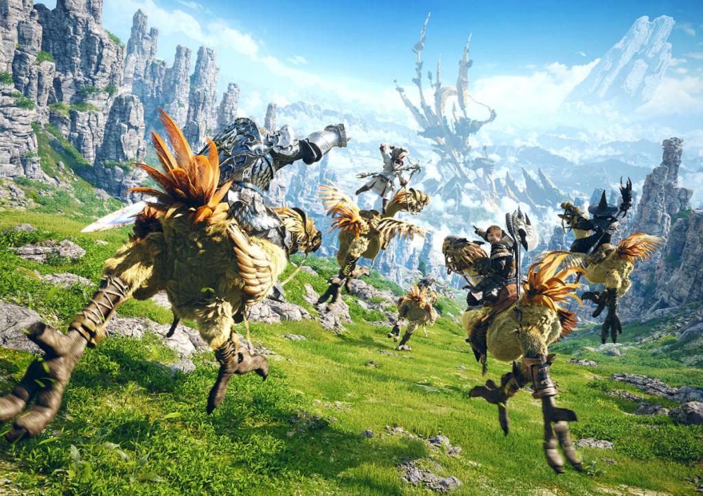 MMORPG final fantasy a realm reborn