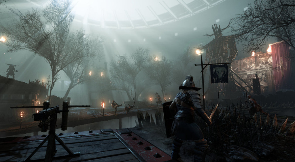 screenshoft from ryse son of rome from crytek