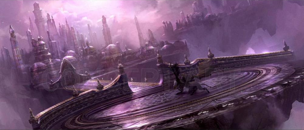 Dalanaar concept art from WarCraft movie