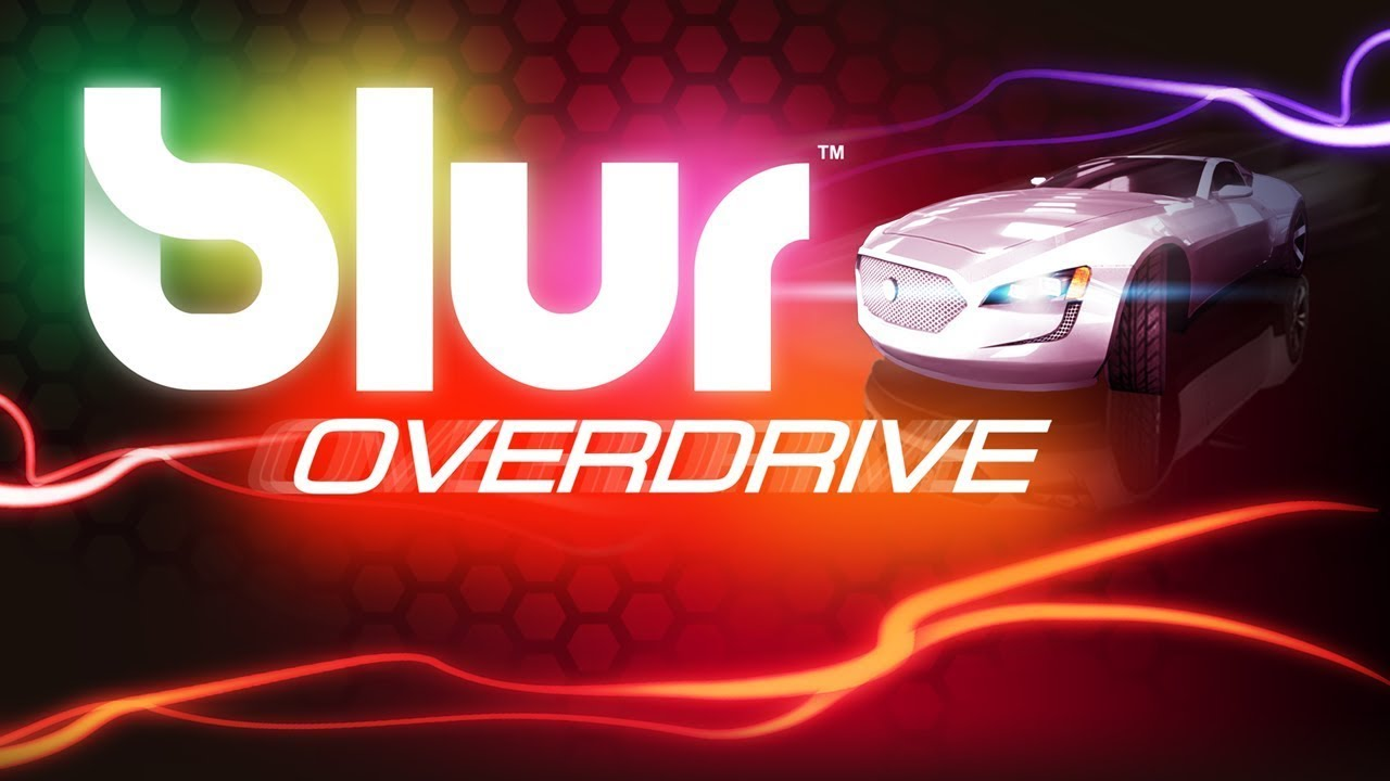 Logo screen for Bliur Overdrive