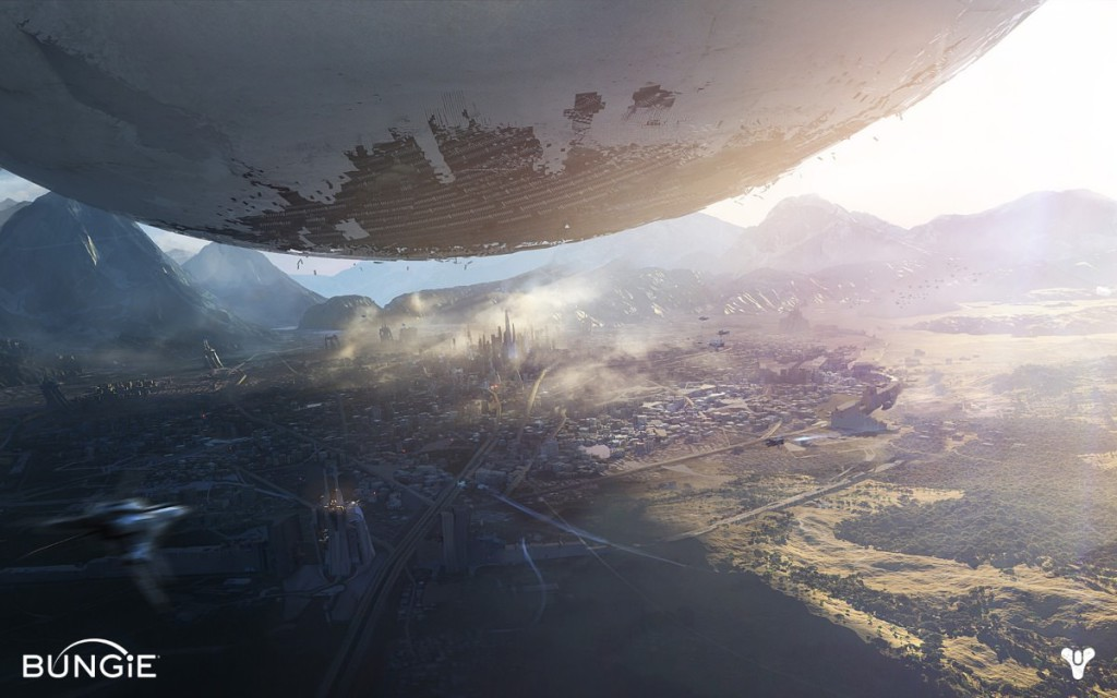 art shot from bungie game destiny