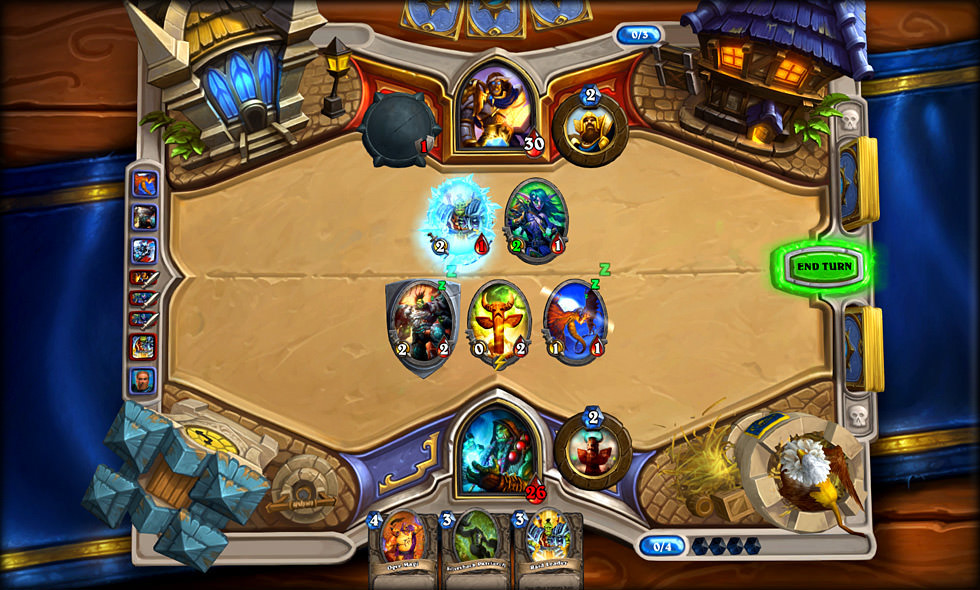 screenshot from blizzard game hearthstone heroes of warcraft