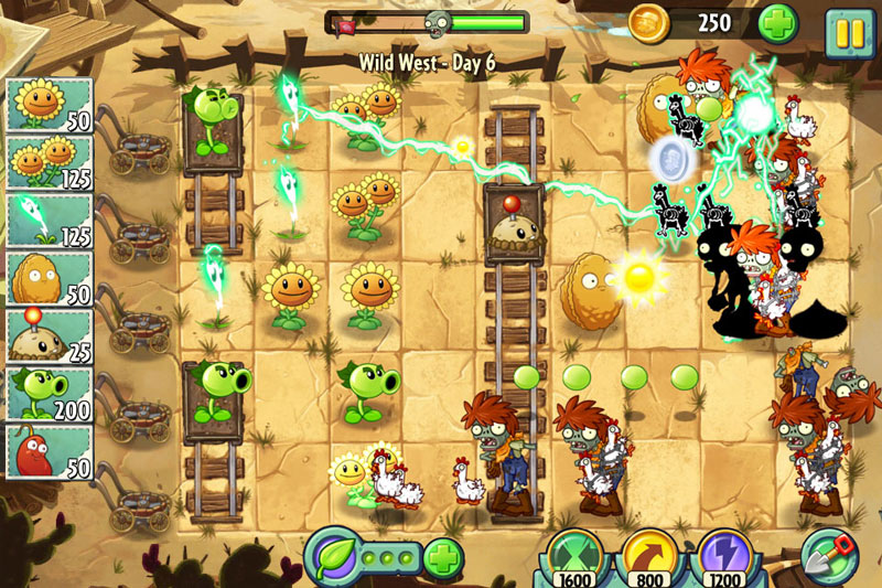 Plants vs Zombies 2 from PopCap and EA