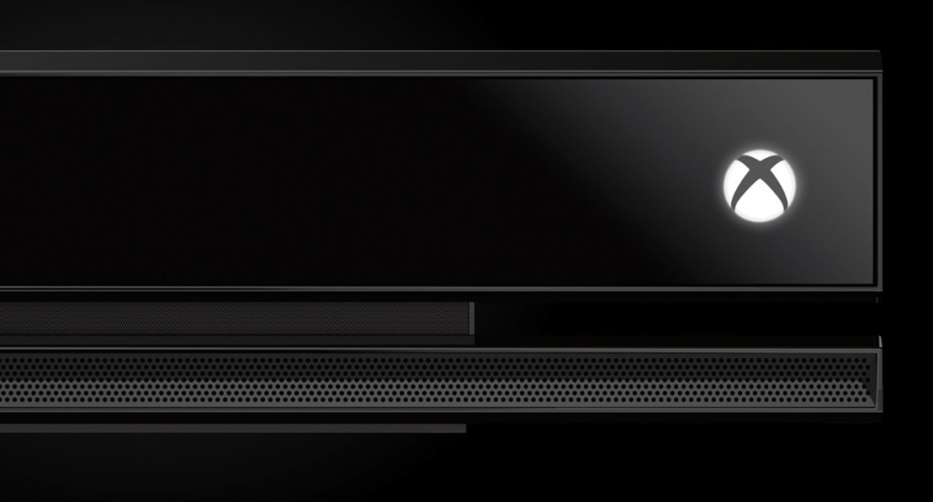 close up shot of new kinect for xbox one