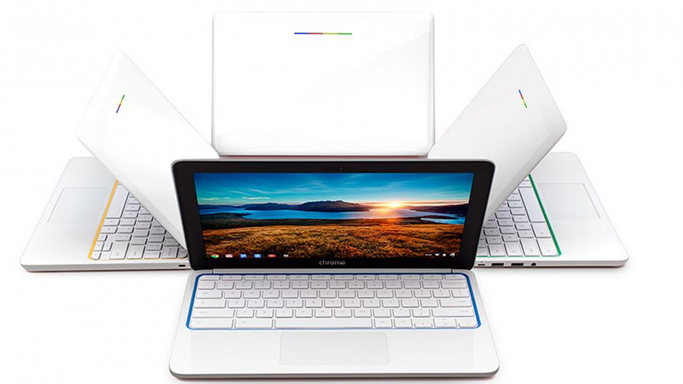picture of HP Chromebook