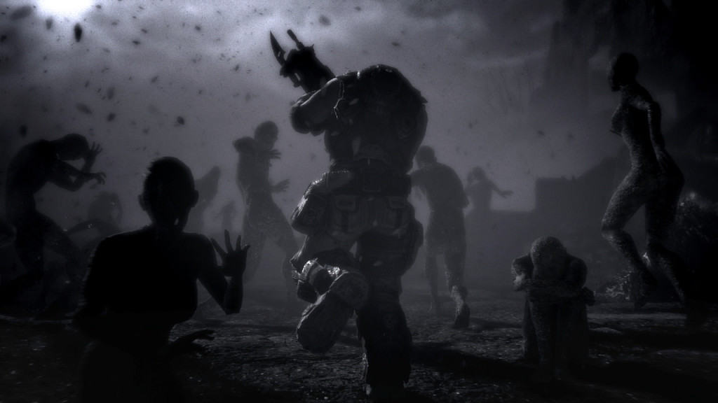 screenshot from gears of war 3 video