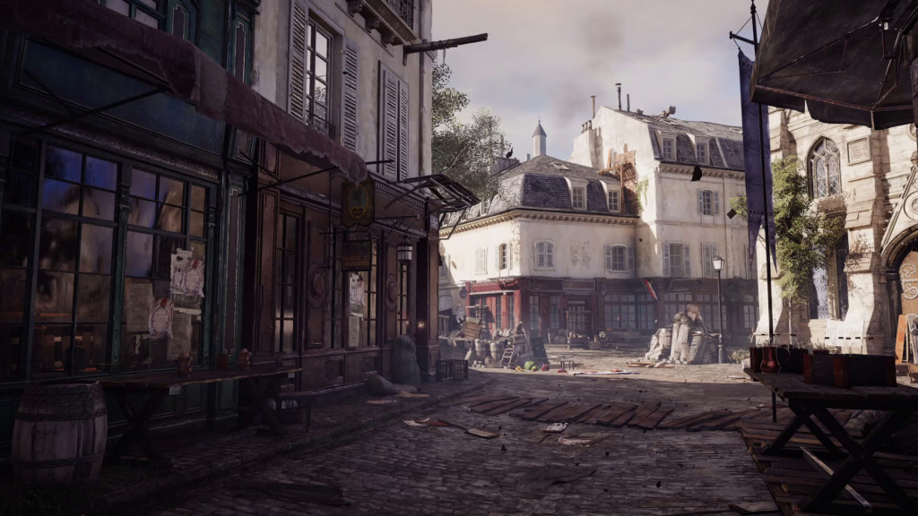 first screenshot from next gen assassins creed unity game