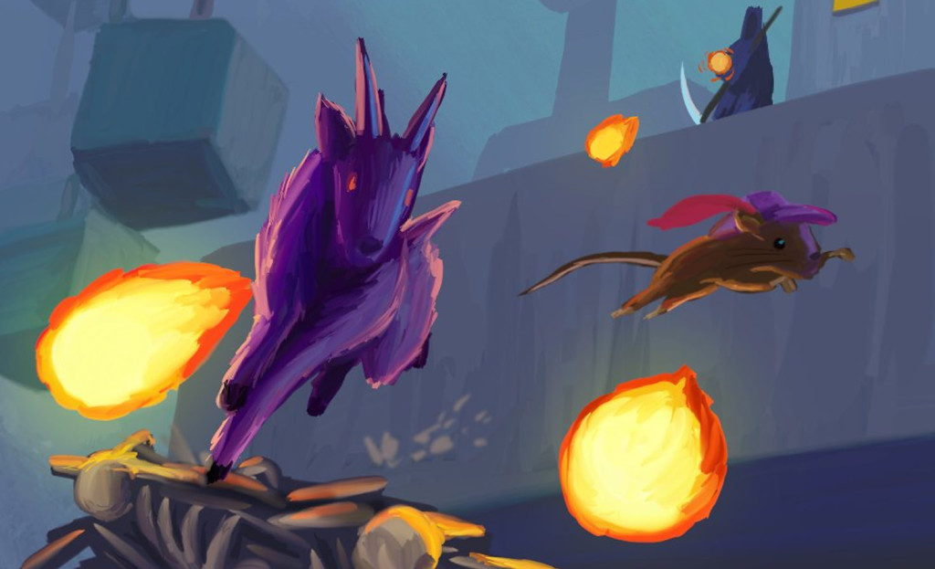 art from escape goat 2 indie game
