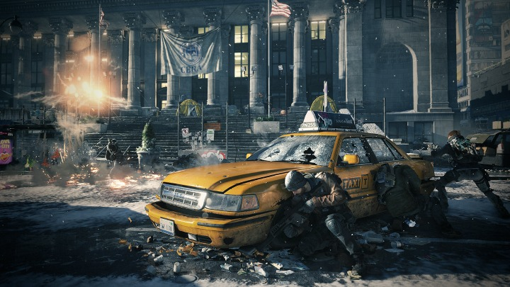 the division taxi