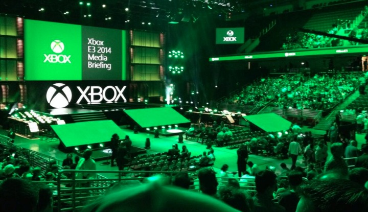 shot from xbox press concerence from E3 2014