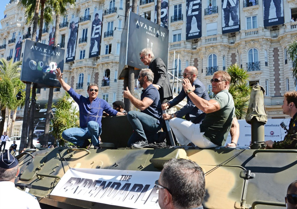 the expendables in cannes