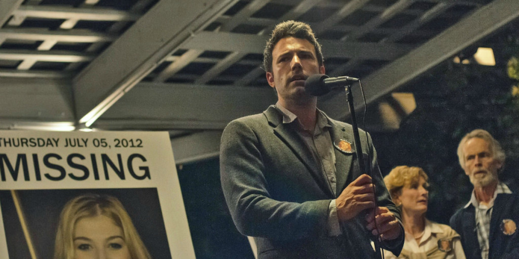 ben affleck in david fincher movie gone girl