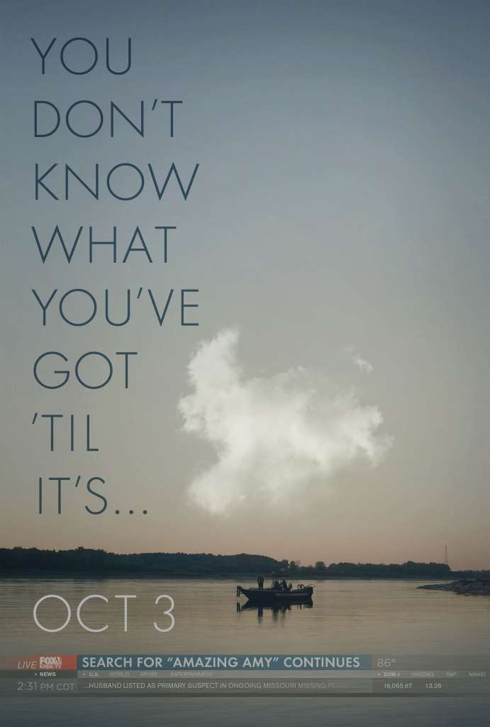 poster for movie gone girl