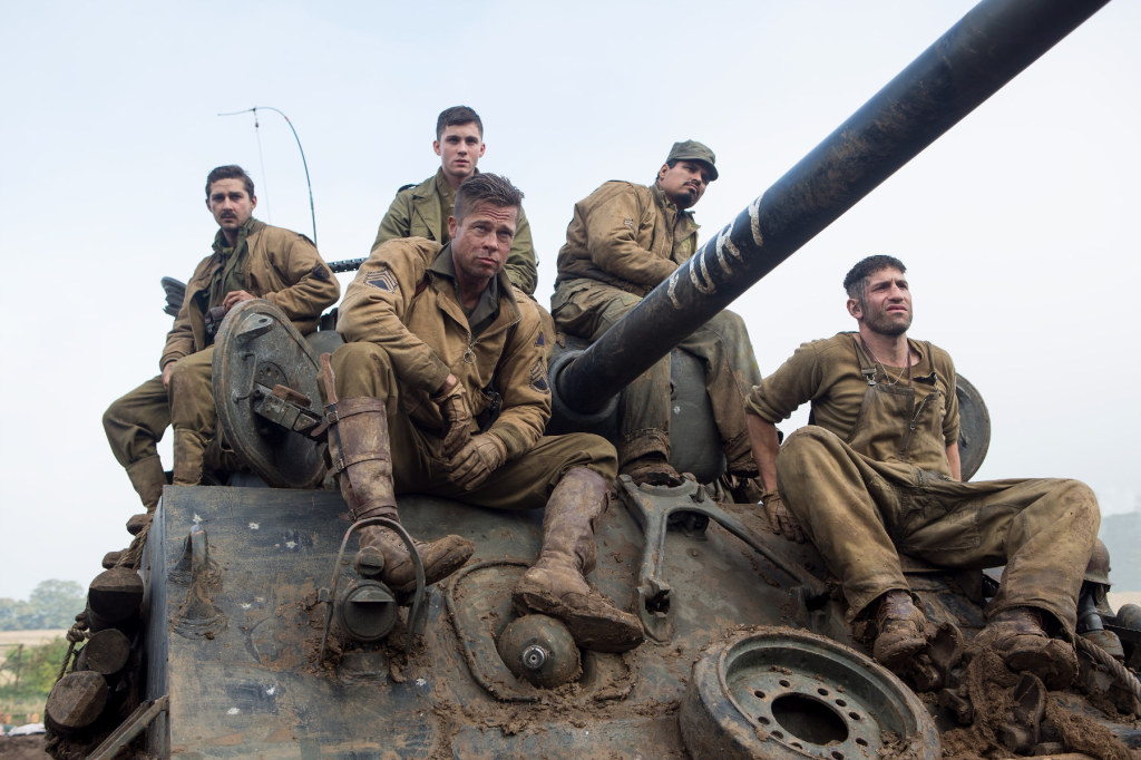 still from fury movie